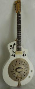 simple cône, guitare à résonateur,résonator guitar,