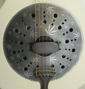 guitare à résonateur, made in france, resonator guitar,